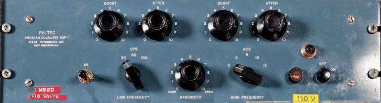 BigBiz Studio | Quali sono gli equalizzatori migliori ? - Pultec EQP-1A