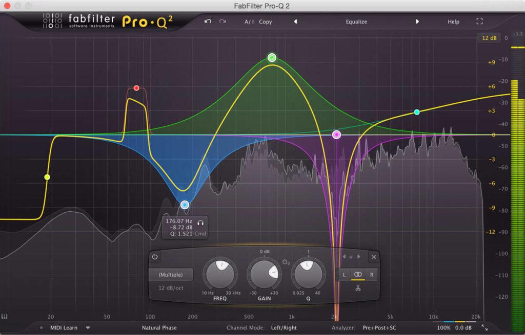 BigBiz Studio | Quali sono gli equalizzatori migliori ? - FabFilter Pro-Q 2